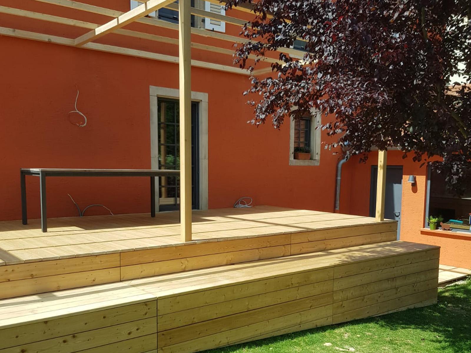 Terrasse au jardin | Extérieur